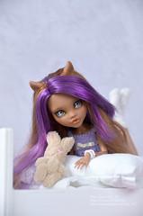🌸Iris🌸 (fluffy_347) Tags: mattel monsterhighrepaint monsterhighcustom monsterhigh ooak ooakclawdeenwolf clawdeenwolf clawdeen doll dolls dollphotogallery dollphotography