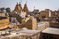 Rajasthan - Jaisalmer - Roof top restaurant-2