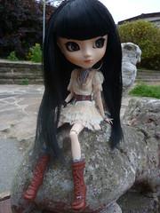 Absinthe (.Poisoned♥Death.) Tags: pullip doll grail jun planning groove veritas absinthe elf rewigged