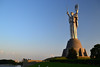 The Motherland Monument - Kiev - Ukraine (przemnml) Tags: motherland monument kiev ukraina sun nikond3100 światło kijów pomnik cccp zsrr socialism architecture architektura art travel podróże reisen