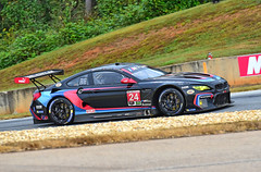BMW M6 GTLM at Petit Le Mans (Thumpr455) Tags: 2017 imsa petitlemans race roadatlanta braselton ga october nikon d5500 autoracing car auto automobile sportscar worldcars action speed bmw m6 gtlm black german afnikkor70200mmf28vrii motul michelin