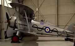 Gloster Gladiator (jhonnyclickplane) Tags: biplane gloster gladiator warbirds worldwartwo cosfordmuseum nikon d3300 aircraft airoplane british raf fighter