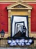 ... The Expressionist Balcony ... (Lanpernas .) Tags: festival terror cine donostia ventana principal semanadelterror halloween 2017 balcony balcón
