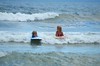 The Kids Boogie-Boarding (Joe Shlabotnik) Tags: july2017 violet higginsbeach boogieboard 2017 maine everett ocean beach afsdxvrnikkor55300mm4556ged