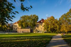 Pałac w Żaganiu (jaceek81) Tags: pałac lubuskie palace palast autumn jesień architektura polska poland sony rx100 park