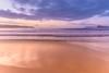 Sunrise Seascape at the Beach (Merrillie) Tags: horizon sand nature dawn surf beauty background newsouthwales sea nsw beach ocean umina coastal outdoors view uminabeach dream landscape australia vacation weather waves clouds longexposure scene coastline sunrise beautiful travel waterscape water holiday scenic seascape light coast centralcoast sky