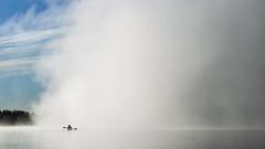 AA4G1771 (vitaminbea (Focus) - bea@vitaminbea.ca) Tags: lake canada wilderness fog watersport vitaminbea landscape beauty amomentintime inexplore lanscapephotography paysage