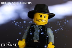 Doors and Corners (y20frank) Tags: lego theexpanse minifigures sciencefiction protomolecule detective tvseries film roman quotes