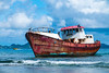 The Old Red Boat Revisited-3111 (islandfella) Tags: lilet petitcarenage kanache red boat vessel ship wreck shipwreck rusty seagulls gulls brownpelican mangrove coastline shallow sea caribbean westindies carriacou grenada grenadines island islandfella davon water