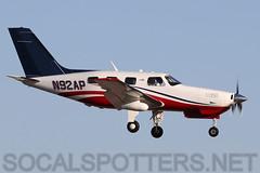 N92AP (SoCalSpotters) Tags: malibu pa46 piper socalspotters n92ap ksdl scottsdale