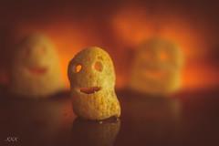 Monster Munch (babs van beieren) Tags: ghost macromondays closeup orange spooky halloween snack