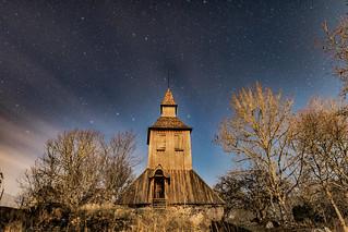 Gryta Church bell tower