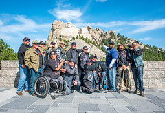2 Fun group at Mt. Rushmore