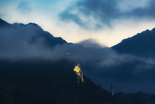 Light On THe Hill - Bled