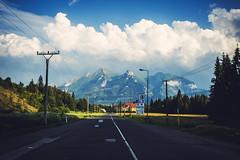 On the Road (Niks Freimanis) Tags: road slovakia poland border slovensko polska belianske tatri high tatras tatry mountains summer travel landscape vintage canon 1740 l f4