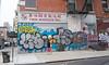Twin Marquis (UrbanphotoZ) Tags: twinmarquis chinese noodles wrappers skins warehouse factory woman walking bag smartphone graffiti urbanart gingerale fresh redbrick fireescape sidewalk garbagecan nobicycleparking chinatown manhattan newyorkcity newyork nyc ny