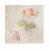A single Rose (BirgittaSjostedt) Tags: rose still coffee cup vase pot texture paint birgittasjostedt e