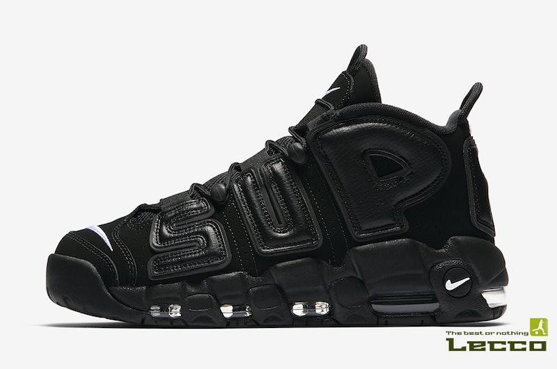 8ddf575a Мужские кроссовки Nike Air More Uptempo x Supreme Black (verbetaroav) Tags:  кроссовки sneakers