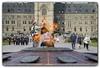 centennial flame (Ste_✪) Tags: eos760d canada canadá ottawa ottobre2016 ontario parliamenthill sundaylights cityscape fiamma flame llama scultura edificio persone