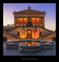 Alte Nationalgallerie Christian Kirsch Kopie (Rukiber) Tags: berlin deutschland hauptstadt alte nationalgalerie blaue stunde nikon d750 christian kirsch rukiber