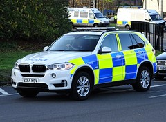 West Midlands Police BMW X5 Armed Response Vehicle (OPS155) BX64 MSV, Birmingham. (Vinnyman1) Tags: west midlands police bmw x5 firearms vehicle ops155 bx64 msv arv armed response ops operations wmp emergency services service rescue 999 birmingham england uk united kingdom gb great britain afo authorised firearm officer oficers city bcfc aston villa football club second derby blues villains saint st andrews zulu warriors steamers ccrew c crew youth hardcore