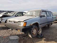 1986 Toyota Tercel (dave_7) Tags: 1986 toyota tercel car wagon junkyard scrapyard