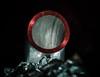 DSCF4549 (bc-schulte) Tags: xt20 fujifilm fujinon 1650mm bw nahlinse 4 rohr metall metal glas macro makro closeup