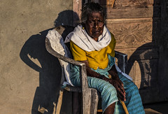 Portrait of time... (ShootsEatsandLives) Tags: old woman portrait people india indian kerala southeast asia face watch rural sonya6000 carl zeiss
