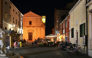 Lively evening in Chioggia