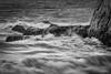Surf's up (James Waghorn) Tags: autumn beach whitecliffs d7100 blackandwhite waves water stmargaretsatcliffe tamronsp70300f456vcusd nd32 rocks kent silverefexpro2 sea england surf windy spray