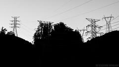 Fontana Dam 16 of 17 (Mr. Low Notes) Tags: 70d tva fontana dam fontanadam outdoors dusk dark night nightshot nightphotography power electricity electric nc blackandwhite bw monochrome silhouette