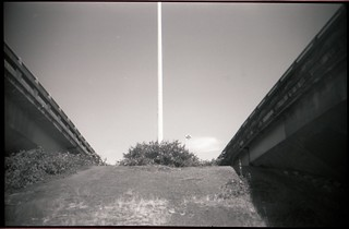 between the viaducts