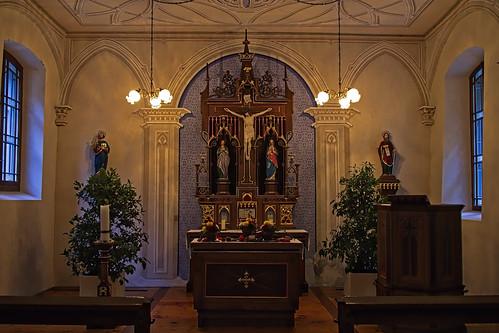 Altes Bad Pfäfers, Kapelle