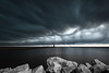 DSC_6455 (Samnmi10) Tags: travelwi wisconsin discoverwisconsin algoma lakemichigan lighthouse storm clouds lake sky
