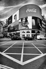 Piccadilly Lights (MKHardyPhotography) Tags: mkhardy london piccadilly monochrome street photography bnw black white