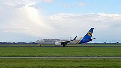 Boeing 737-8Q8 c/n 28241 Ukraine International Airlines registration UR-PSP (sirgunho) Tags: amsterdam airport schiphol aircraft the netherlands holland aeroplane boeing 7378q8 cn 28241 ukraine international airlines registration urpsp