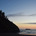 Crescent Moon Over Trinidad Head