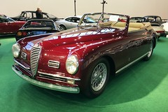 Alfa Romeo 6C 2500 SS Pininfarina Cabriolet Super Sport Corto I 1948 (Transaxle (alias Toprope)) Tags: 10faves 10favs 8faves 8favs motorworld motor world classics berlin expocenter city radiotower fair exhibition messe show antique amazing bella beauty beautiful classic clasico motorklassik motore vintage voiture veteran veterans soul styling sport power powerful toprope design السيارات 車 past clasicos antiguas auto autos car cars coche coches macchina macchine vehicle vehicles voitures vieillesvoitures italia italy italian italianblood italiane italiancars italianclassics italiana italiano italiani italcar italauto italiancar italdesign
