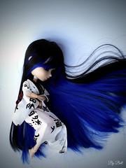 Deep (♪Bell♫) Tags: pullip naomi momoko yoko groove doll blue