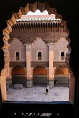 Ben Youssef Madrasa - From Students Rooms (Hector16) Tags: africa october morocco lavilladesorangers unescoworldheritagesite المَغرِب northafrica مراكش berber marrakech kingdomofmorocco marrakesh marrakeshtensiftelhaouz ma