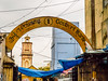 One of the entrances to the Grand Bazaar (debra booth) Tags: 2017 grandbazaar india pondicherry pudicherry puducherry copyrighted wwwdebraboothcom