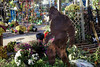 Walk around Amana 10-24-17 12 (anothertom) Tags: iowa amanaiowa amanacolonies historicgermanvillagelandmark autumn metalart yarddecorations bigfoot sasquatch cryptid silhouette 2017 sonyrx100ii