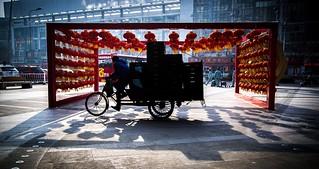 Hard work in China