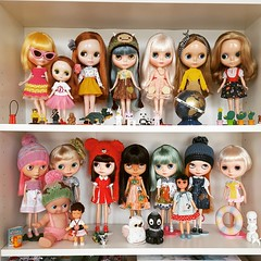 Dolly shelf sunday... a few weeks ago