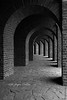 Bogengang (mikegraphy.pictures) Tags: xanten amphietheater rom germany museum bw way bögen bogengang steine sw