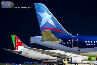 A332 TAP & A319 LATAM Peru