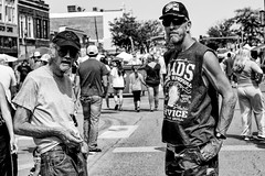 Beer Removal Service (alhawley) Tags: american bw pentaxsupertakumar55mmf18 usa blackandwhite candid everytownusa fujifilmxt10 grain gritty monochrome photoessay portrait reportage street streetphotography fujilove takumar