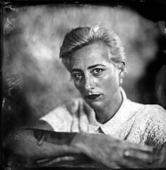 Clélia ([Eric OLIVIER]) Tags: wetplate collodion process largeformat alternativ portrait noiretblanc blackandwhite filmisnotdead photography girls girlportrait