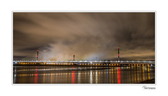 5D4_8032 (Paul Compton (PDphotography)) Tags: pdphotography bridge fireworks liverpool mersy opening reflections runcorn