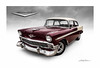 Fifty-Six Chevy (DL_) Tags: vintage classic 56chevy chevrolet trifive automotive transportation olympusomdem5mkii